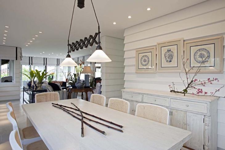 white wood wall design