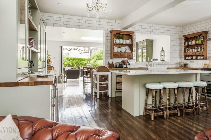 polished wooden floor ideas