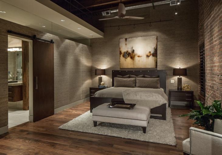 bedroom hardwood interiors