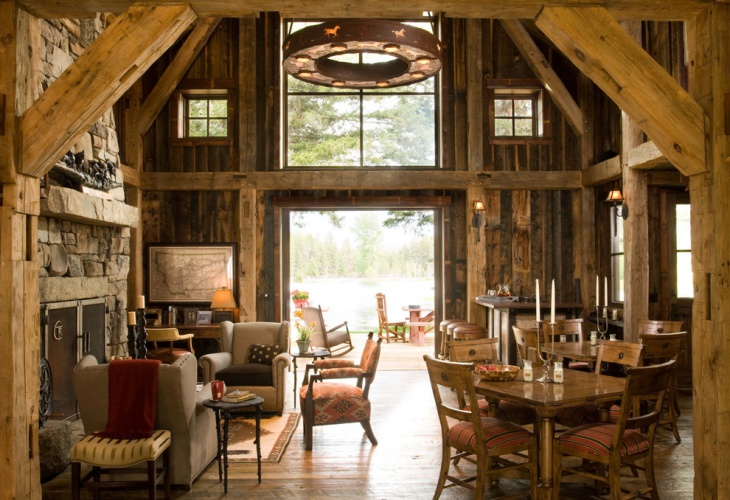 rustic home interior designs