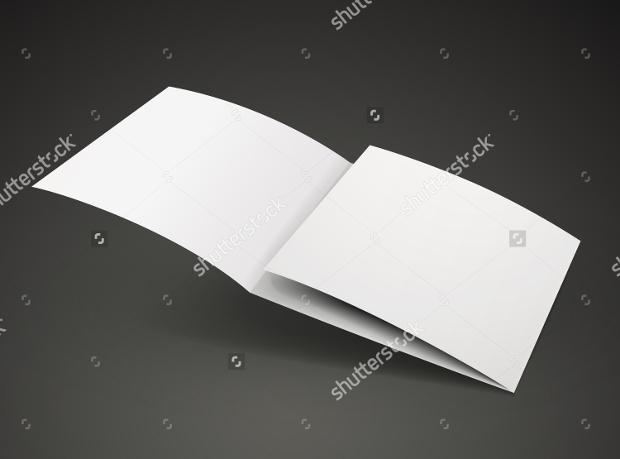 Open Trifold Brochure Design