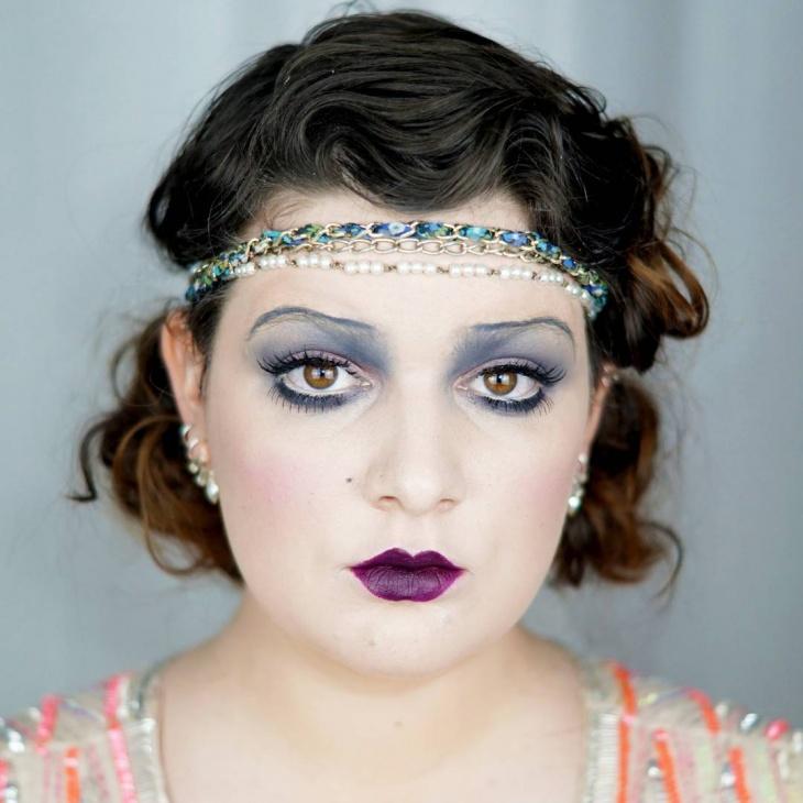 Vintage Makeup Idea