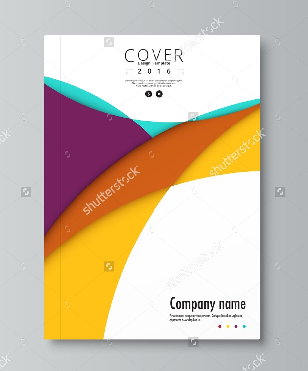 Editable Brochure For Company