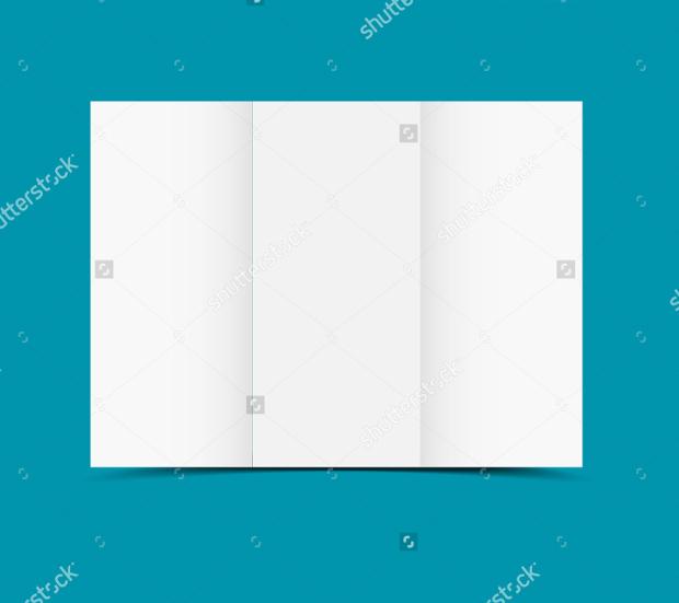 High Quallity Blank Brochure Design