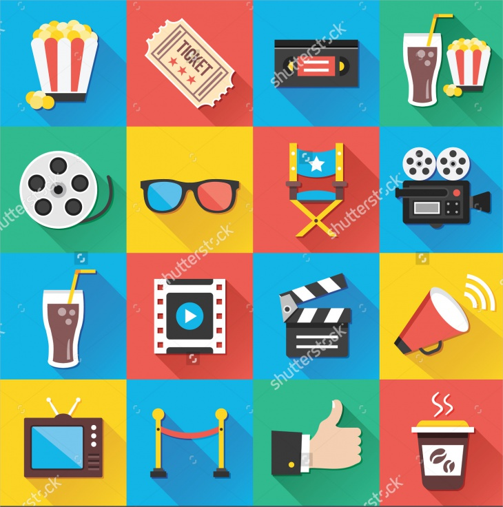 Vector Entertainment Icon Set
