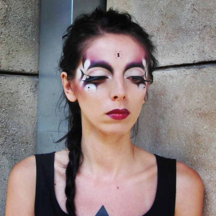 Gothic Style Makeup Design