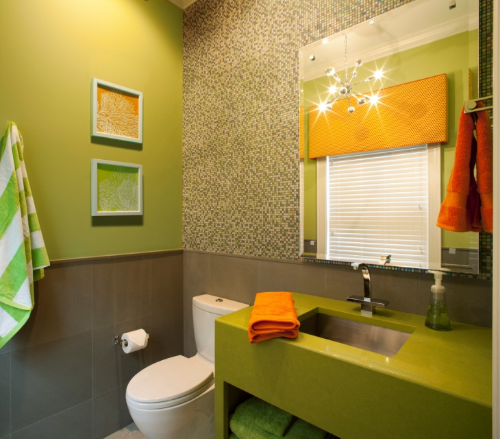 lime green bathroom paint1