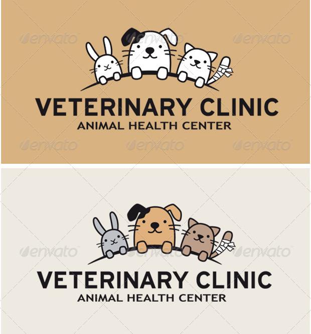 Funny Animals Logo Design