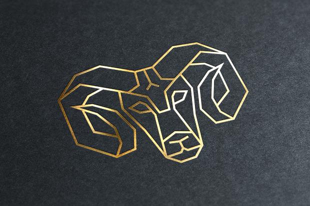 geometric animals logo