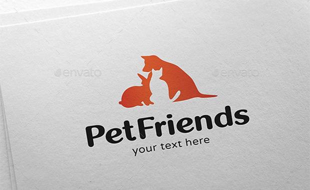 pet animals logo design