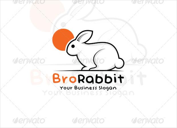 Rabbit Animal Logo