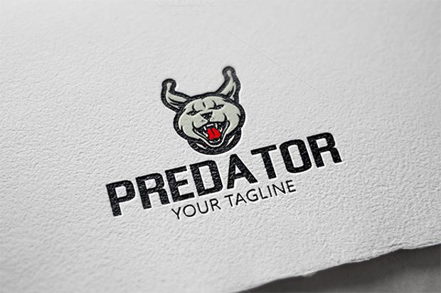 Predator Animal Logo Template