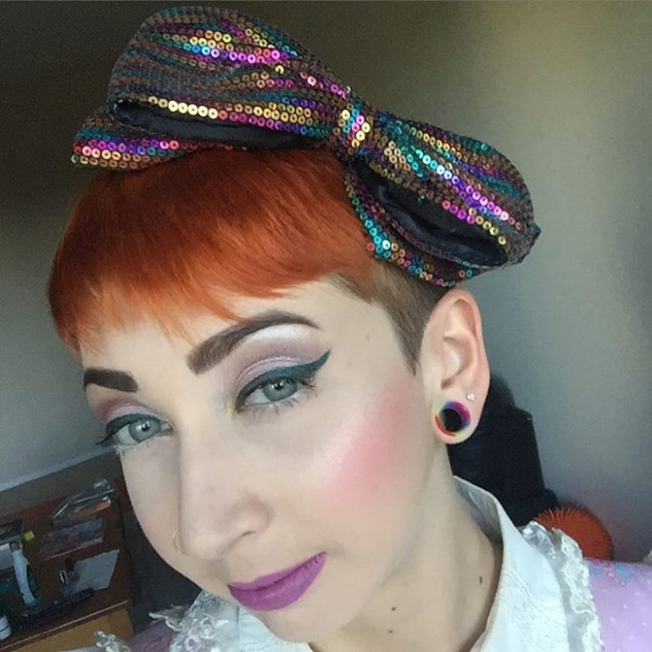 Awesome Retro Makeup Idea