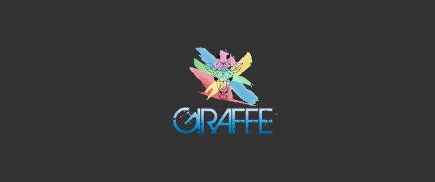 animal giraffe logo
