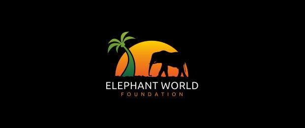 Elephant World Logo