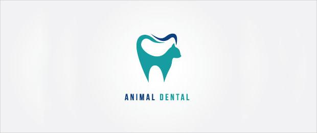 animal dental logo