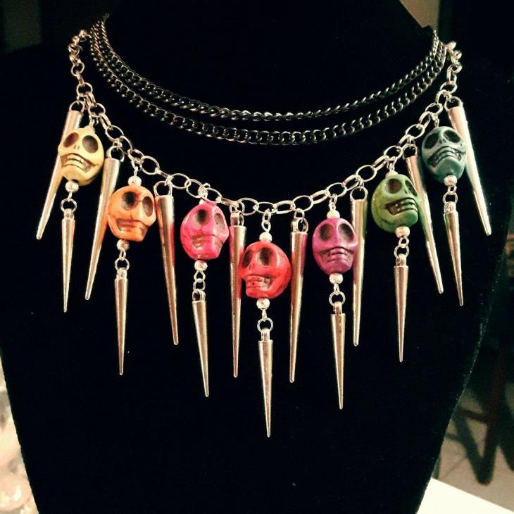 unique handmade necklace design