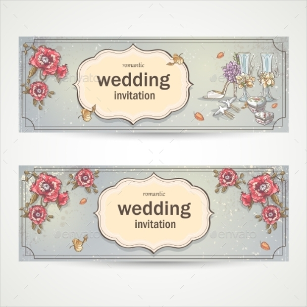 16 wedding banners free psd ai vector eps format download horizontal wedding banner stopboris Images