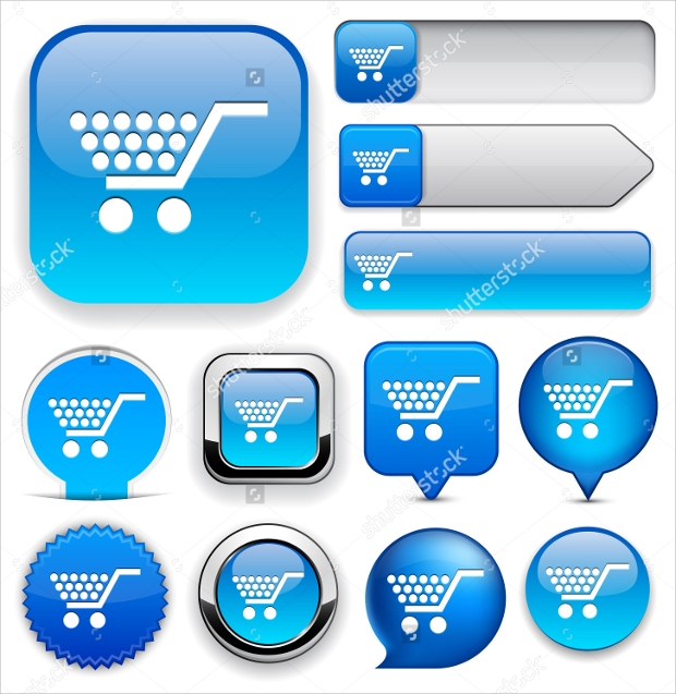 Blue Design Add to Cart Buttons
