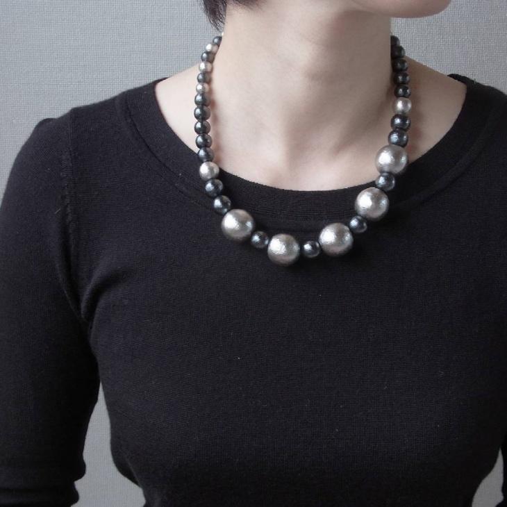 simple pearl necklace idea