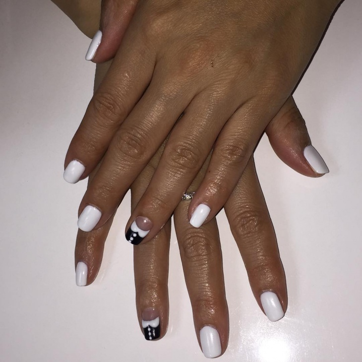 Simple and Nice Shellac Nails