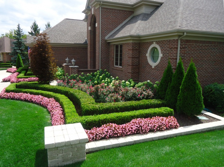 20 diy landscaping designs ideas design trends for Simple landscape design