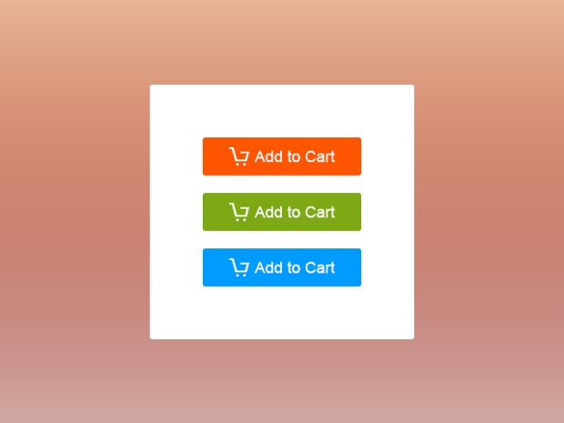 Flat Add To Cart Web Buttons