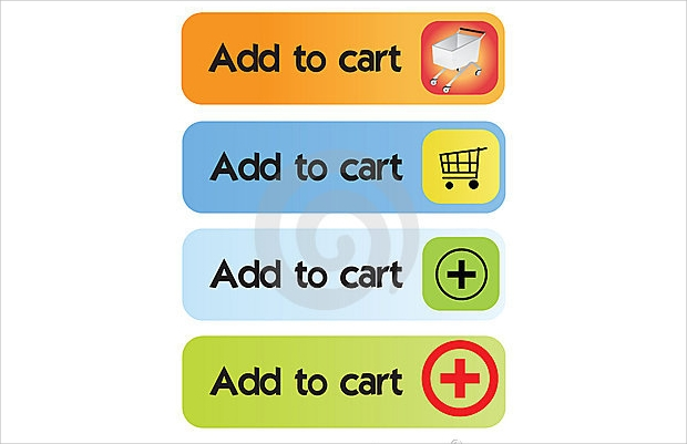colorful add to cart buttons