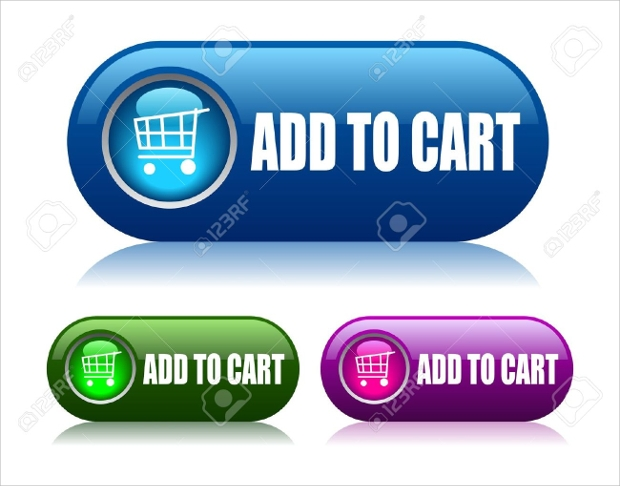 glossy add to cart buttons