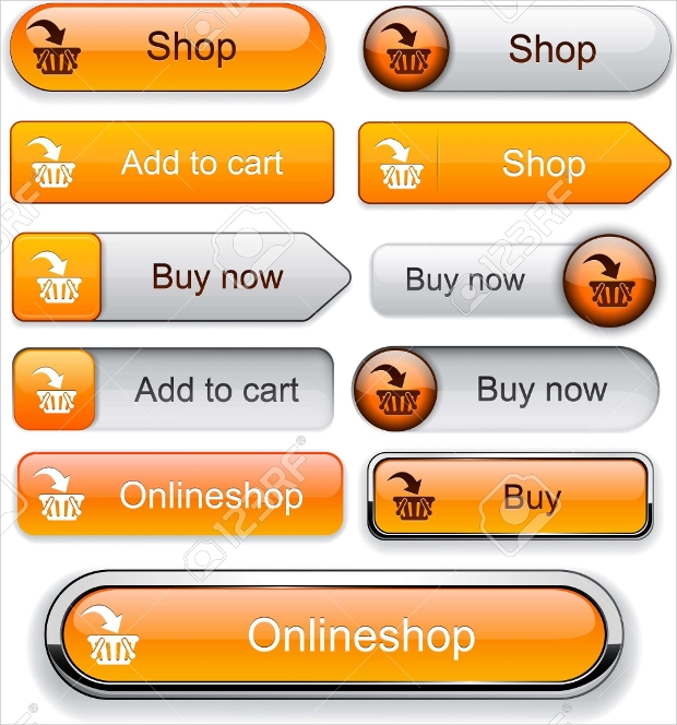 web orange add to cart buttons