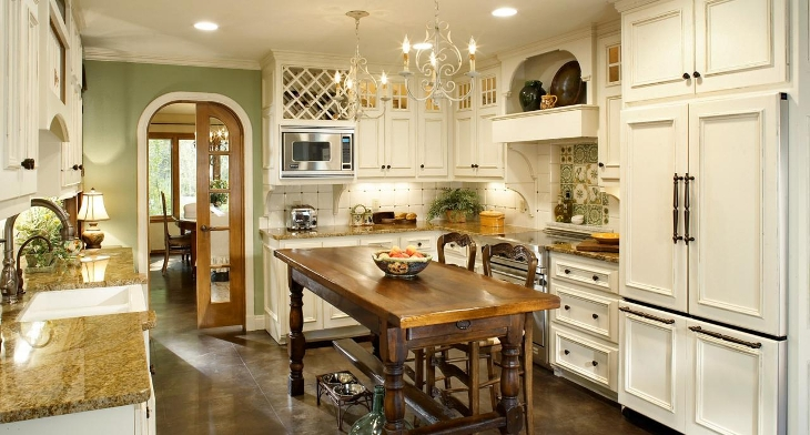 French Country Kitchen Cabinet Designs