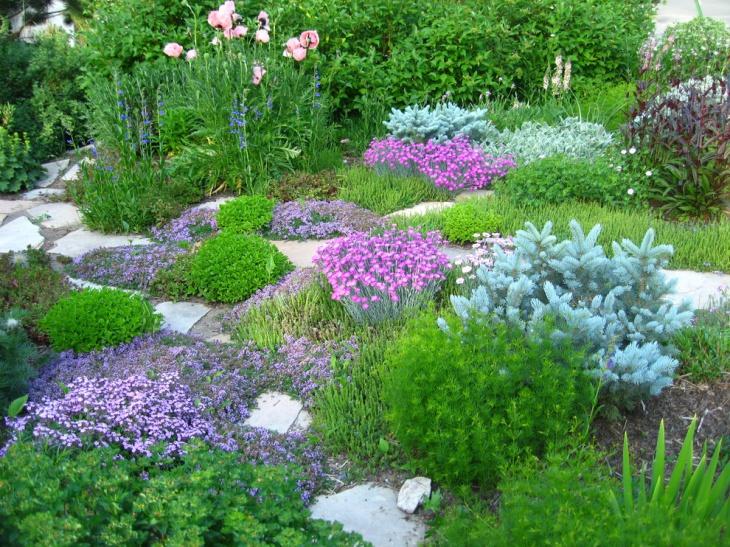 English Floral Garden