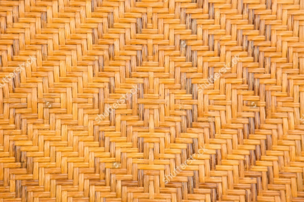 Handcrafted Natural Wicker Texture