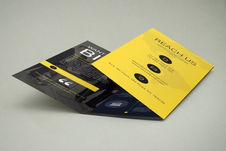 Attractive Trifold Brochure