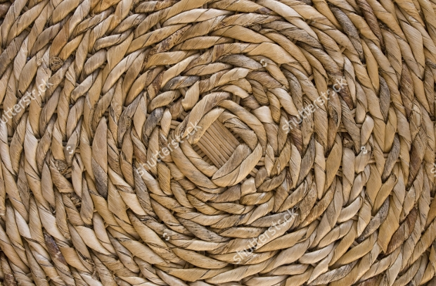 Wicker Woven Roof Texture