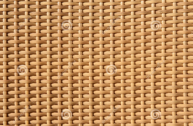 Brown Woven Wicker Texture