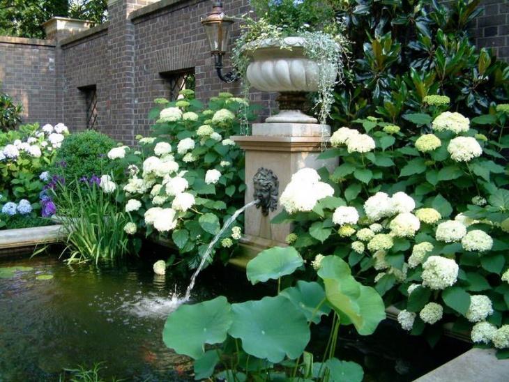 english fountain garden