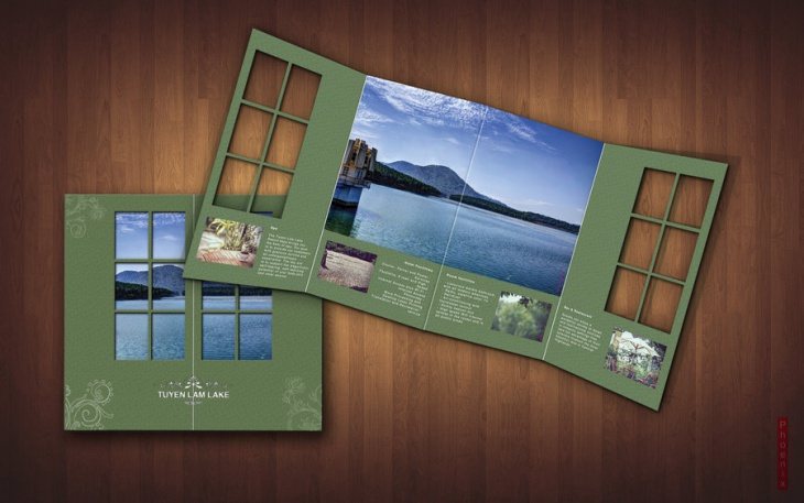 resort brochure design idea - Brochure Design Ideas
