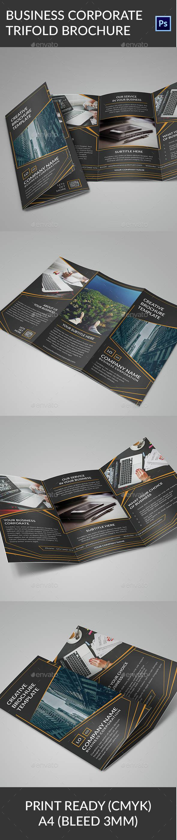 Creative Design Trifold Brochure