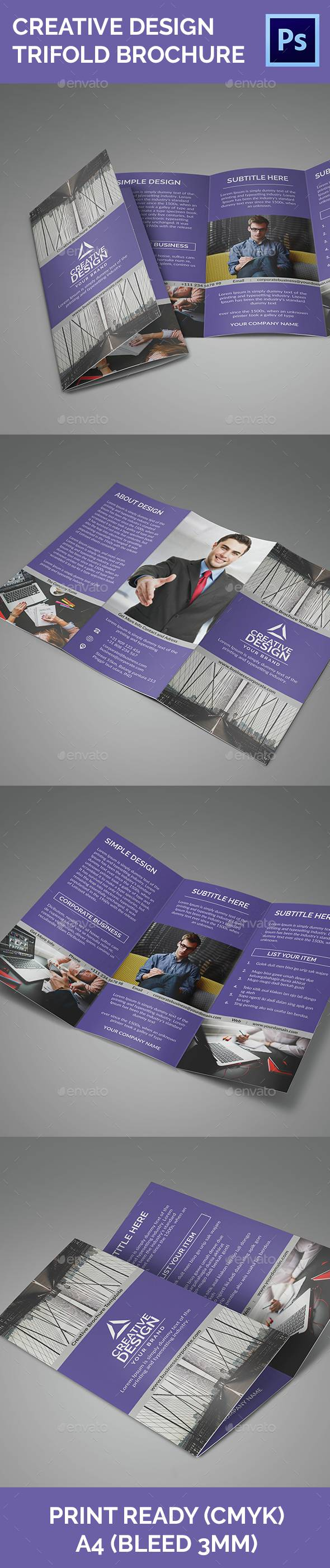 Creative Design Vol 2 Trifold Brochure