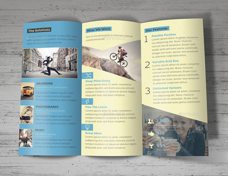 Creative Design Agency Trifold Vol 2