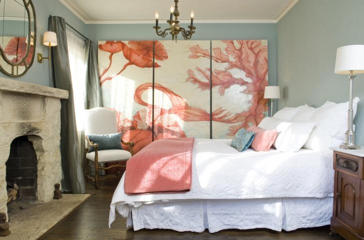 fabric wall art bedroom