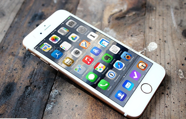photorealistic iphone 6 mockup