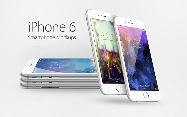 high resolution iphone 6 mockup