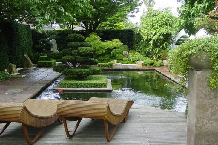 Japanese Topiary Garden