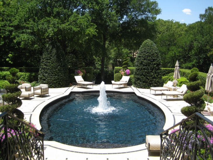 Fountain Topiary Garden