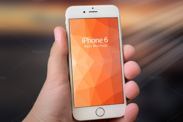 Iphone 6 Real Mockup