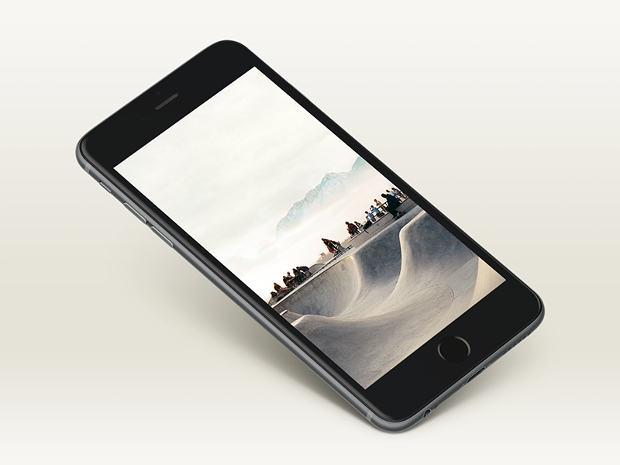 Iphone 6 Plus Mockup Design