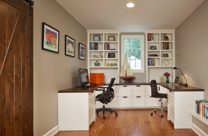 tiny home office interior decor