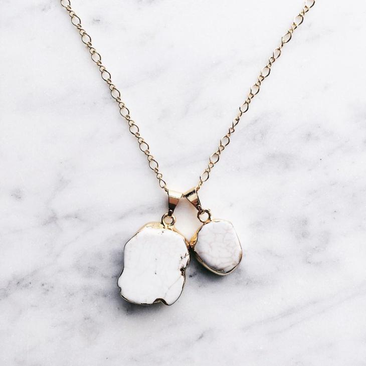 stone pendant design